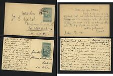 Bosnia 2 postal cards used H1224-21