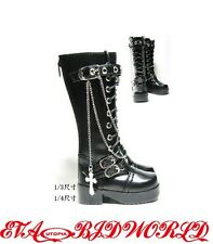 1/3BJD Shoes Supper dollfie SD Luts Black new #100-1