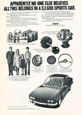 1972 Fiat 124 Sports Coupe - Belongs - Classic Vintage Advertisement Ad D53