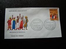 MADAGASCAR - enveloppe 9/12/74 - fokonolona - yt n° 552 - (cy7) (E)