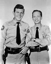 Andy Griffith Show ANDY GRIFFITH & BARNEY FIFE Don Knotts Glossy 8x10 Photo