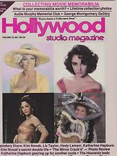 FEB 1981 HOLLYWOOD STUDIO vintage movie magazine - LIZ TAYLOR