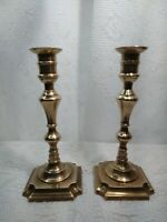 Antique Bronze Candlesticks Set The Import Collection INDIA.