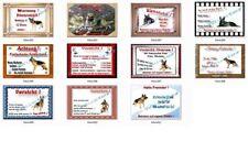 Schäferhund-Sammlerobjekte