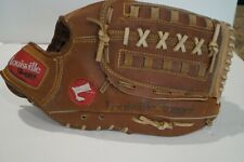 "LOUISVILLE SLUGGER SOFTBALLER 12.5""HBG9 LEATHER BASEBALL GLOVE RHT"