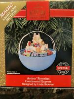 HALLMARK KEEPSAKE CHRISTMAS ORNAMENT ARTIST'S FAVORITES 'CONTINENTAL EXPRESS'