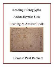 Reading Hieroglyphs - Ancient Egyptian Stela : Reading and Answer Book by...