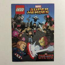 LEGO MARVEL Captain America CIVIL WAR 2016 Super Heroes Mini Comic Book