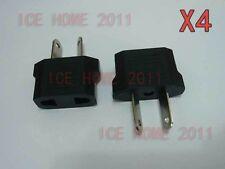 4X US/EU Universal to AU AC Power Plug Adapter Travel 2 pin Converter