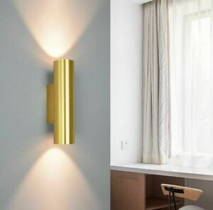 Indoor LED Wall Light Lamp Bedside 12W Golden Color Stair Wall Sconce Decoration