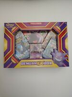 Gengar EX Collection Box, Sealed! Includes 4 Pokemon TCG Booster Packs!