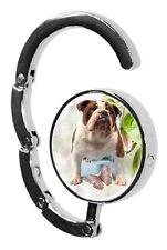Bulldog Dog Table Bag Handbag Purse Hanger Hook-2 by paws2print