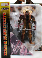 Marvel Select Zombie Sabertooth Action Figure Diamond Select