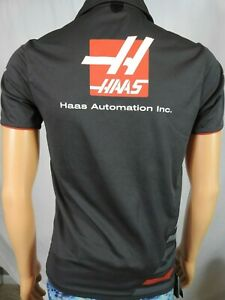 Haas Formula One F1 Racing Team Issue Gray Polo Shirt XS Pirelli Jack Jones