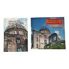 Hiroshima Memorial Peace Park And Peace Reader Book Lot 2 Japan Travel Vintage