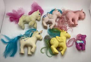 1980's My Little Pony G1 Vintage Figure Lot Baby So Soft Majesty MLP