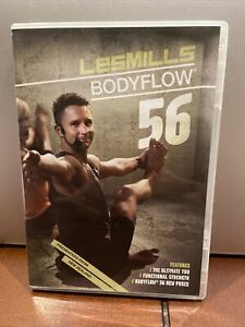 Les Mills Body Flow Release #56 WITH DVD CD BOOKLET
