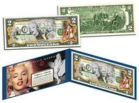 MARILYN MONROE *Multi-Image* Legal Tender U.S. $2 Bill * OFFICIALLY LICENSED *