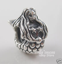 Retired MERMAID 100% Authentic PANDORA Silver Charm~Bead 791220 NEW w POUCH