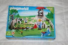 PLAYMOBIL 4131 SUPER SET SUPERSET LA VIE A LA FERME BERGER PATURE ANIMAUX