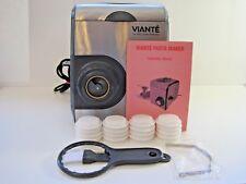 Viante Cuc-26Pm Electric Pasta Maker Williams Sonoma Automatic 14 Press Knife