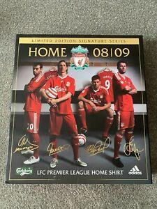 Liverpool fc Signed Shirt, 08/09 season