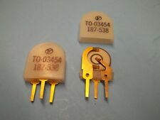 Crystal Transfilter 456 Khz, Clevite TO-03-454, price for 5,
