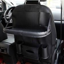 1x Schwarz Leder Auto Hintersitz Tasche Ablagefach Aufbewahrungsbox Universal