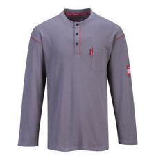 Herren-T-Shirts mit Henley in Größe 3XL