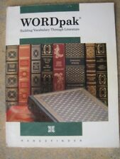 Word Pack Building Vocabulary through Literature paperback