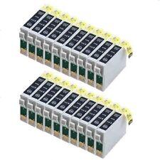 20  schwarz für Epson Stylus C64 C66 C84 C86 CX3600 CX3650 CX6400 CX6600 Patrone