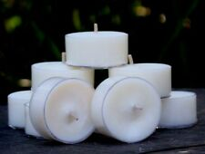 10pk 120hr/pack CADBURY CHOCOLATE Delish Scented ORGANIC SOY TEALIGHT CANDLES