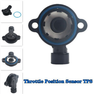 1x Black Throttle Position Sensor TPS Used To Detect The Engine Status ABS+Metal