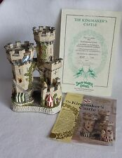 David Winter Cottages - The Kingmaker'S Castle - John Hine - Coa & Proclamation