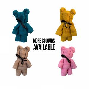 Teddy bear face cloth, teddy bear flannel, teddy bear wash cloth, eco friendly