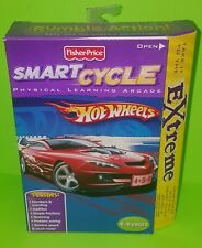 Fisher Price Smart Cycle Hot Wheels Extreme Game New