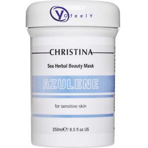 Christina Sea Herbal Beauty Mask Azulene 250ml + Freebie