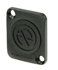 Neutrik DBA-BL Blank Dummy Chassis Panel Mount Cover. D-Type