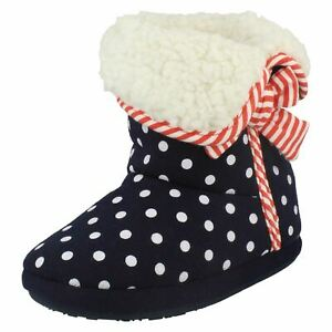GIRLS CLARKS BOOTIE SLIPPER SLEEP WALK