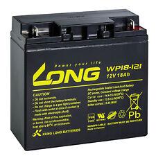 12V 18Ah LONG WP18-12 SHR VdS Akku AGM GEL Blei Batterie Rasen Aufsitzmäher 17Ah