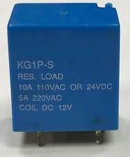 Kam molva kg1p-s RES. Load 10A 110VAC 5A 24 Vcc interruttore relè, 12VDC TENSIONE BOBINA