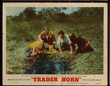 TRADER HORN Rod Taylor ORIGINAL VINTAGE 1953 MOVIE LOBBY CARD 11 x 14