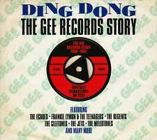 DING DONG - THE GEE RECORDS STORY 1956-1962 - VARIOUS ARTISTS (NEW SEALED 2CD)