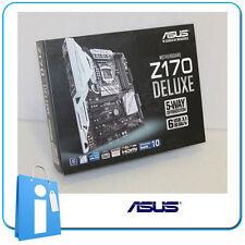 Placa base ATX ASUS Z170 DELUXE Socket 1151 con Accesorios