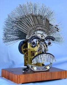 Steampunk Albert Einstein ( one of a kind)