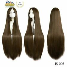100cm Anime Wig Long Straight Cosplay Wig Multi-colour Universal Party Wig JS005