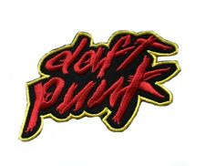 Daft Punk Patch (90 mm) Embroidered Iron on Badge Homework Music Logo Souvenir
