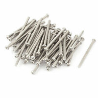 M3 x 45mm 304 Stainless Steel Crosshead Phillips Pan Head Screws Bolt 60pcs