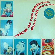 Voice of the Beehive ORIG OZ 10 EP Don't call me baby NM 88 Indi Rock