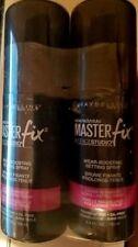 LOT OF 2 MAYBELLINE MASTER FIX BY FACESTUDIO WEAR BOOSTING SET SPRAY - 3.4 OZ